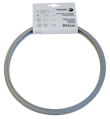 Fagor 998010020 Dichtungsring für Schnellkochtopf, Silikon, weiß, 30 x 18 x 10 cm